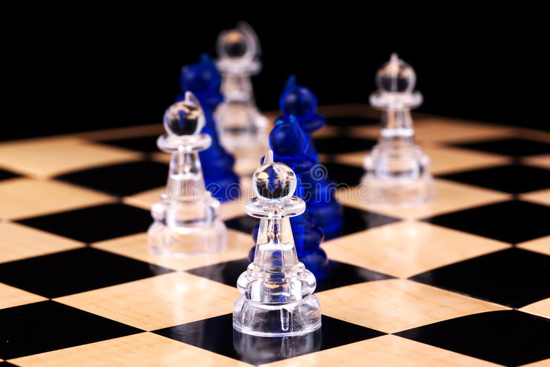 Download Pawns stock image. Image of checkers, play, thought, move - 420839
