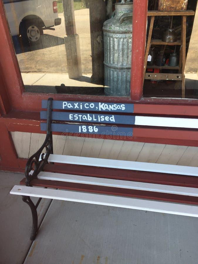 Paxico-Bank stockfotografie