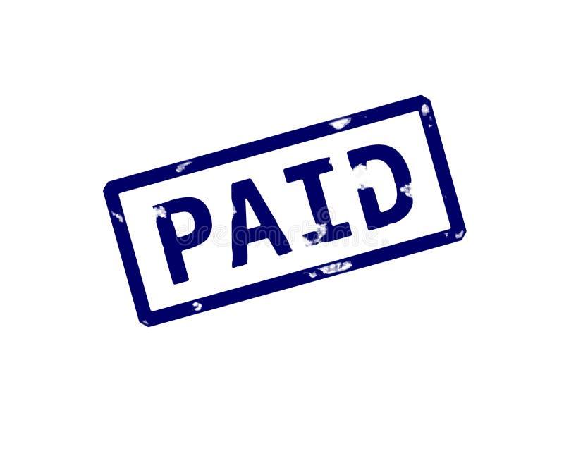Payé illustration stock