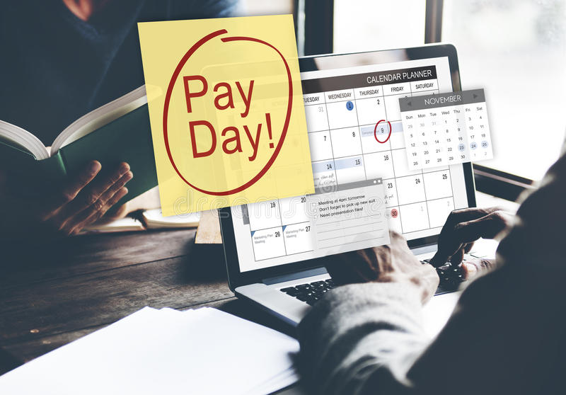 Pay Day Accounting Banking Budget Economy Concept royalty free stock photography