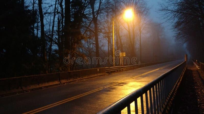 Pay the troll or no crossing Steelhead Park Washington royalty free stock images