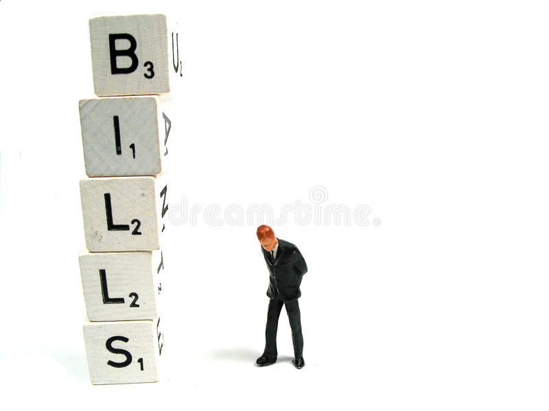 Download Pay your bills stock photo. Image of bankrupt, problem - 6465100
