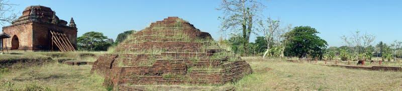 Payahtaungpagode en stupa stock afbeeldingen
