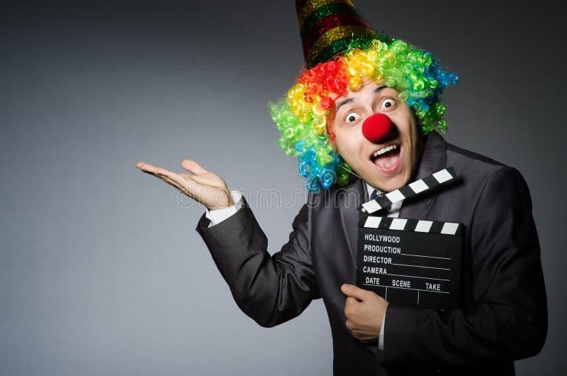 Download Payaso con la película foto de archivo. Imagen de circo - 41917596