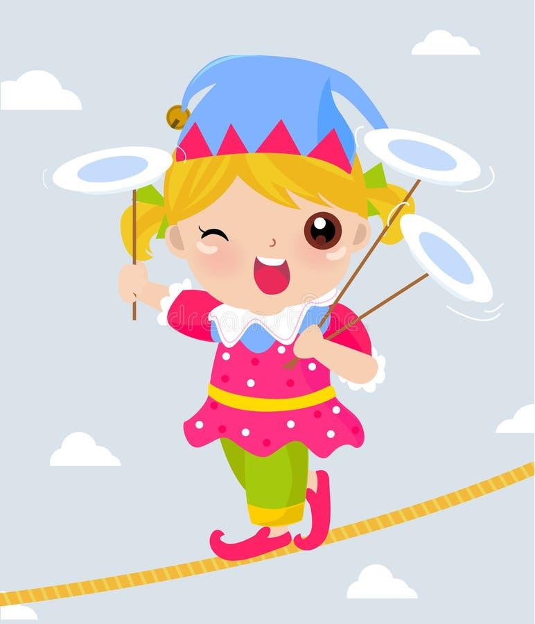Payaso de circo libre illustration