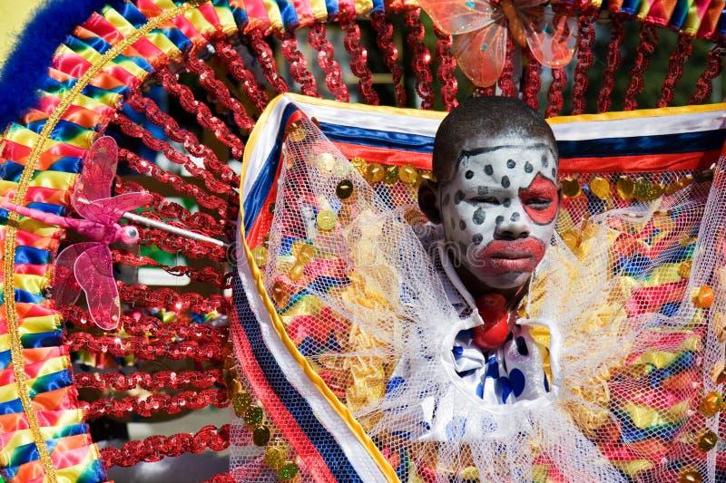 Payaso del carnaval foto de archivo libre de regalías