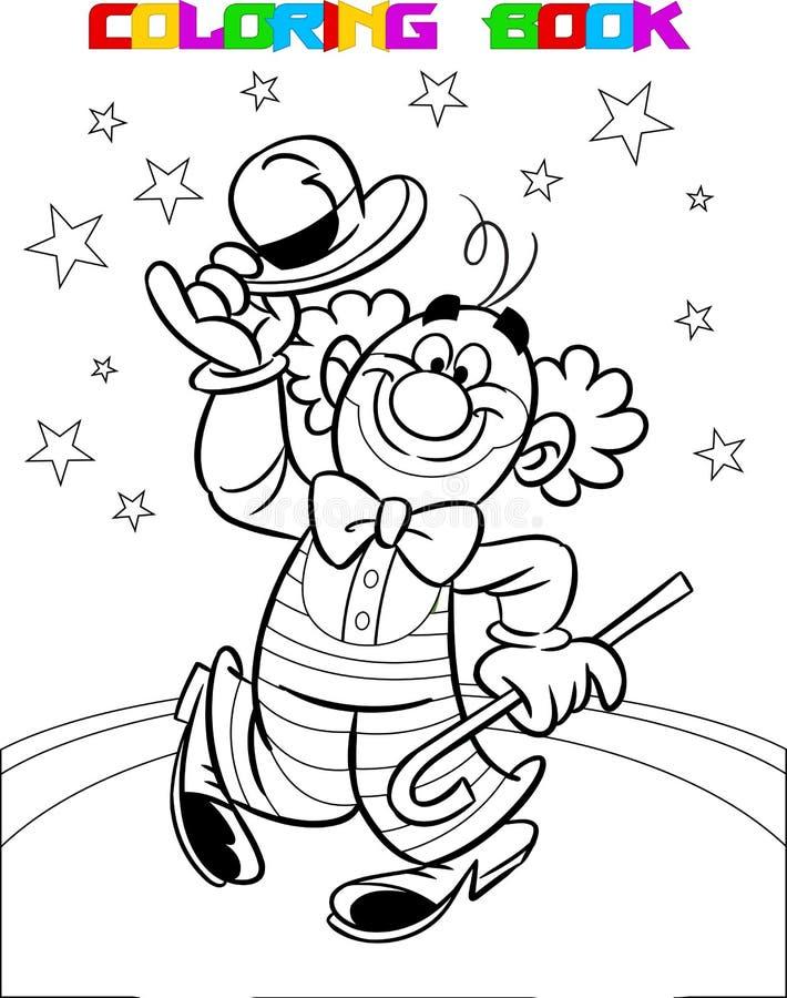 Payaso en el circo libre illustration