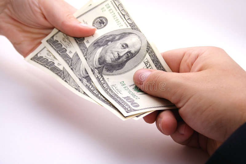 Payday stock photography