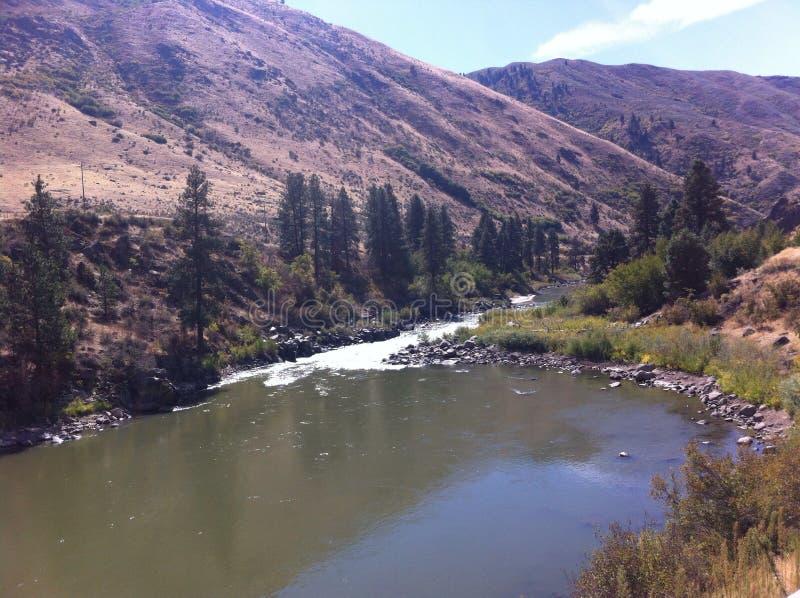Payette rzeka, Idaho fotografia stock