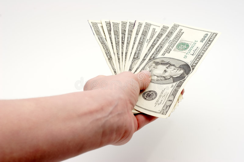 Download Paying bills with cash stock photo. Image of dollar, money - 56346