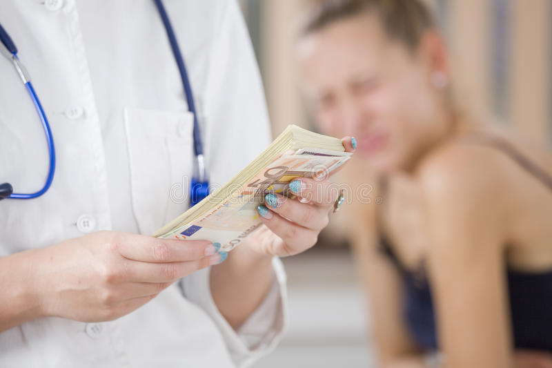 Download Paying For Medical Treatment Stock Image - Image: 20538557