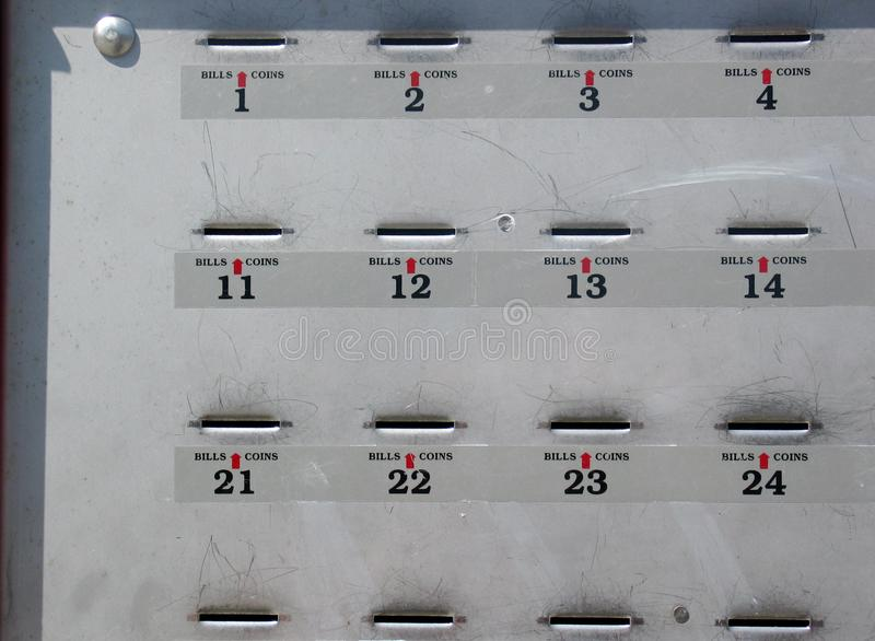 Download Payment Box for Parking stock photo. Image of coin, bill - 2873800