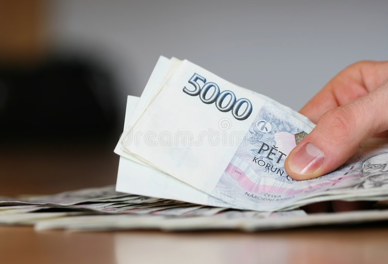 Payment for cash royalty free stock images
