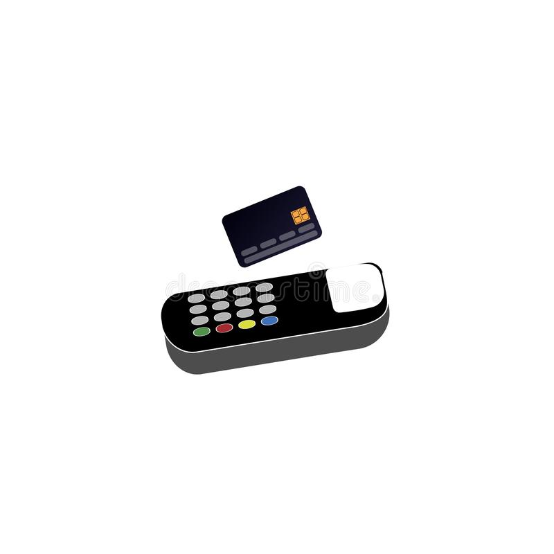 Payment by credit card. Payment at checkout. Vector illustration vector illustration