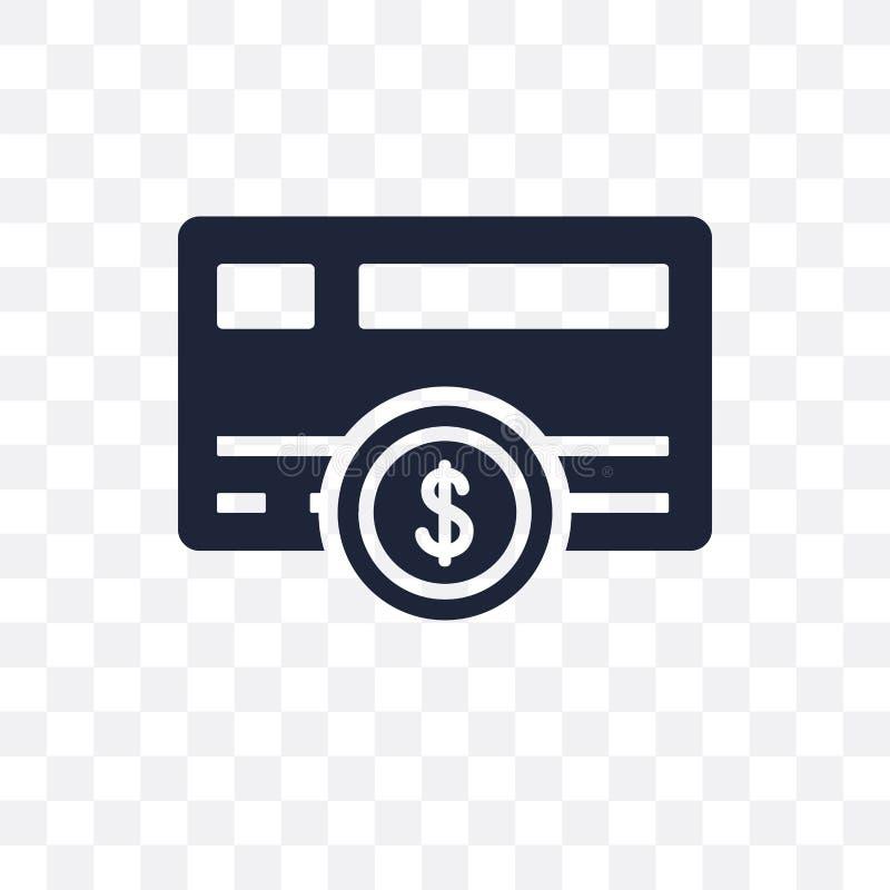 Payment method transparent icon. Payment method symbol design fr royalty free illustration