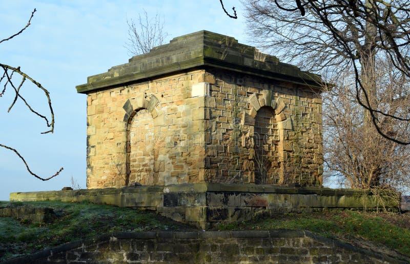 Payne Mausoleum Grade 2 listete englisches Erbgebäude auf lizenzfreies stockfoto