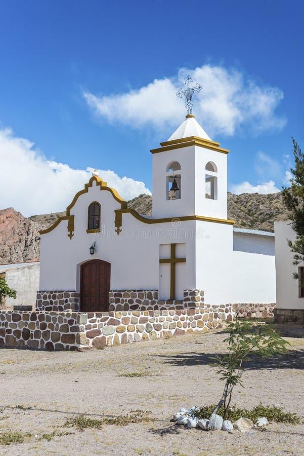 Payogastilla i Salta, Argentina. arkivfoton