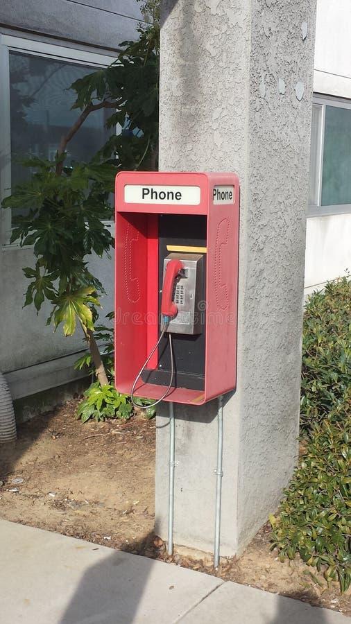 payphone stock afbeelding