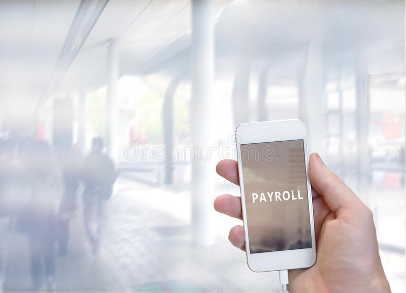 payroll photographie stock