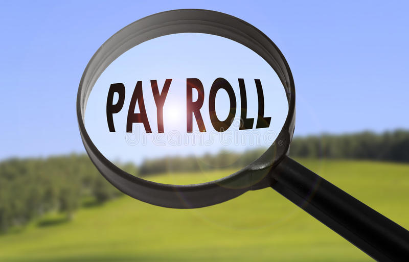 payroll foto de archivo libre de regalías