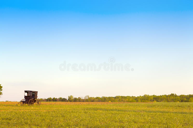 Pays amish photographie stock