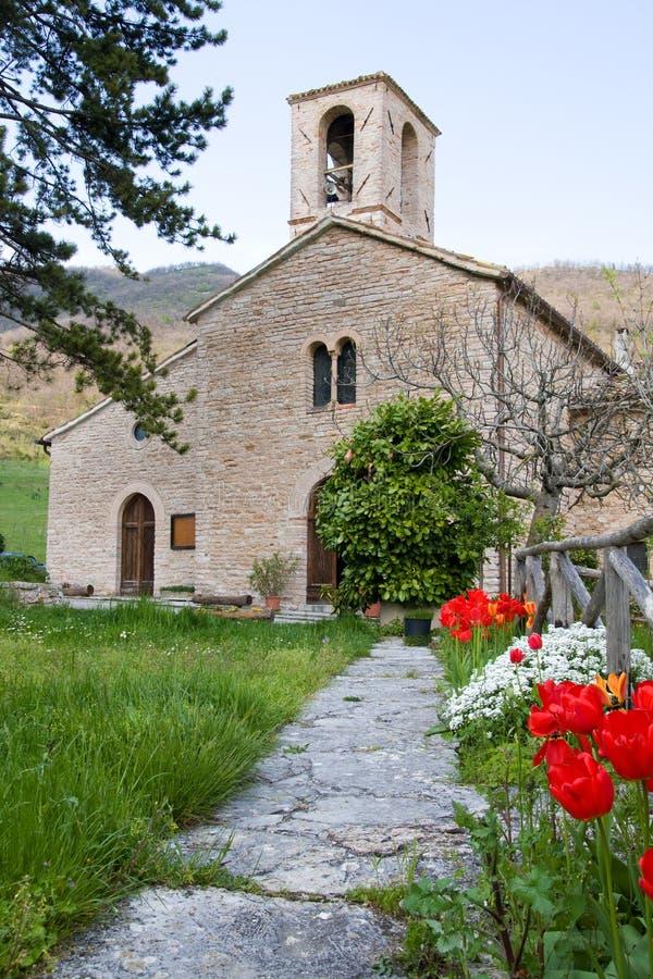 pays d'église photographie stock