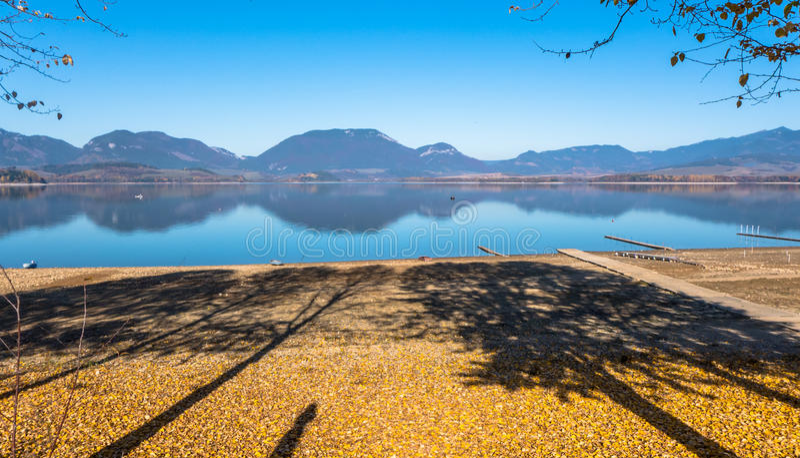 Pays d'automne photographie stock
