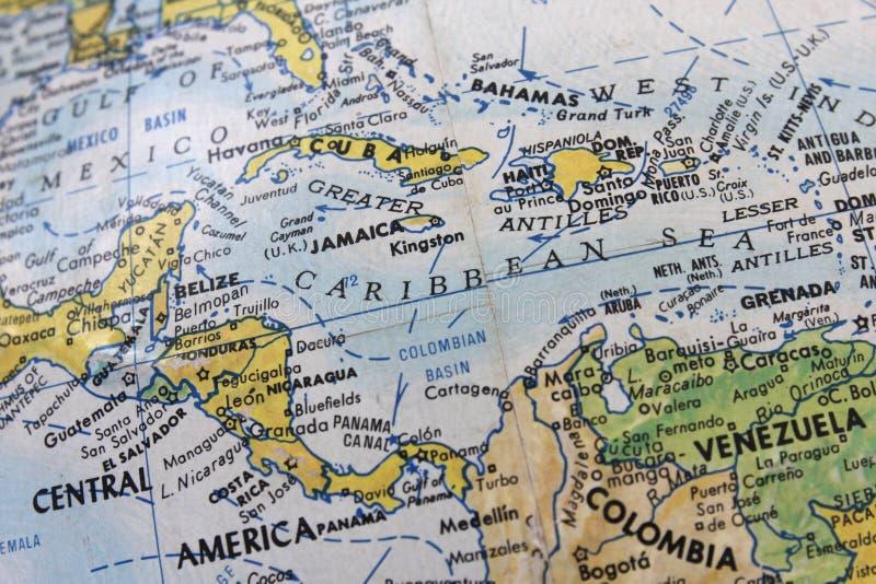 Pays de l'Amérique Centrale photographie stock