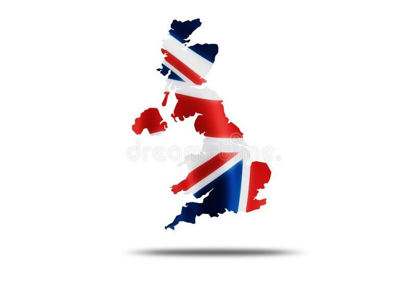 Pays de l'Angleterre illustration de vecteur