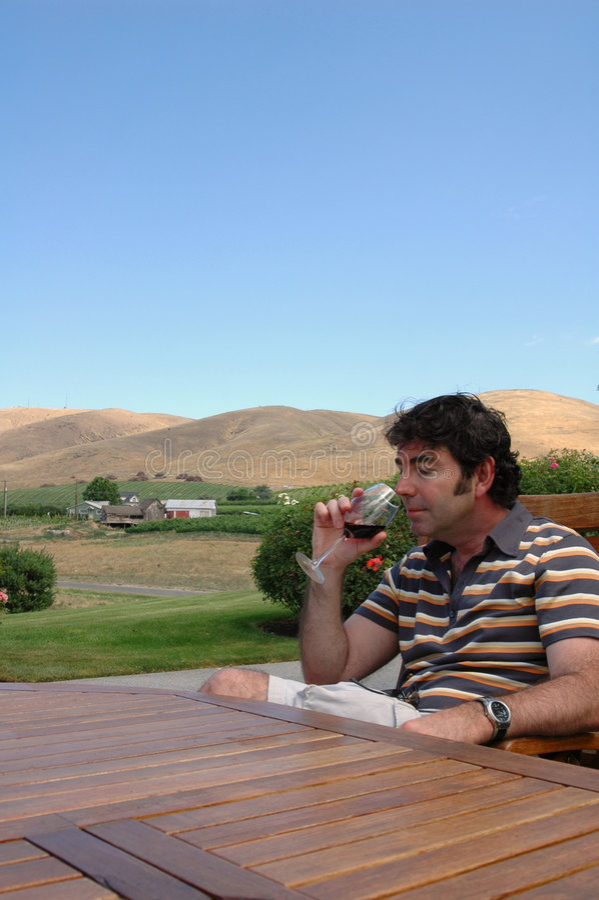 Pays de vin 2 photos libres de droits