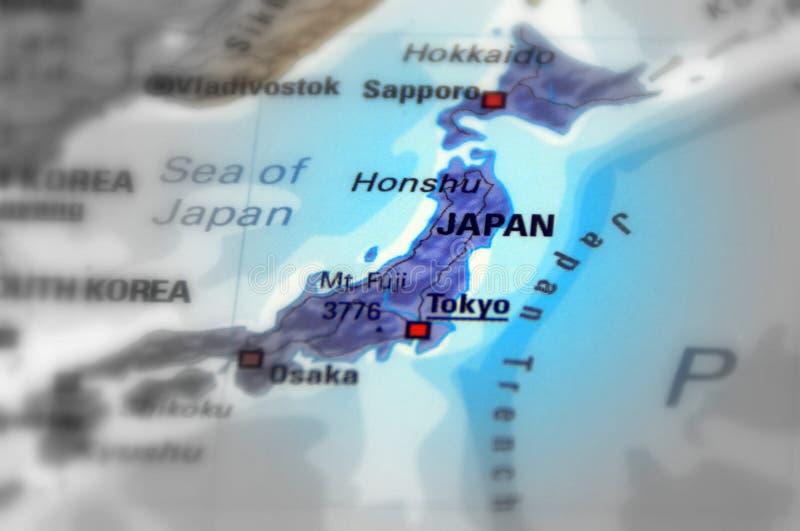 Pays du Japon image libre de droits