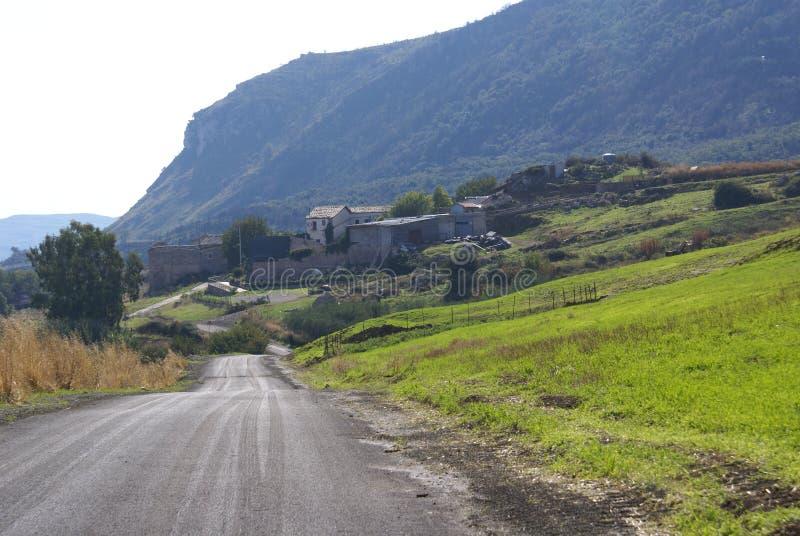 Pays sicilien photographie stock libre de droits