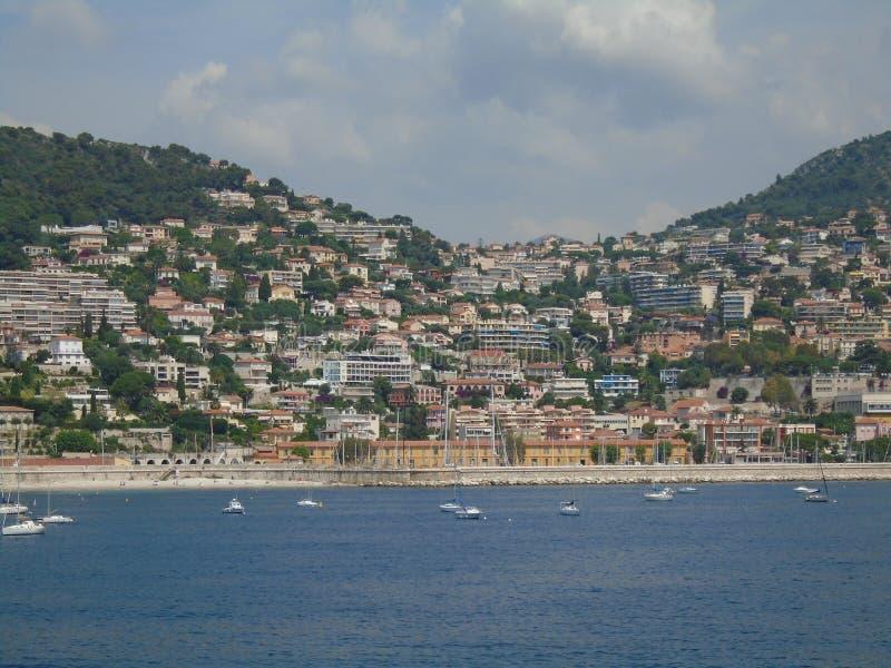 Paysage à Nice image libre de droits