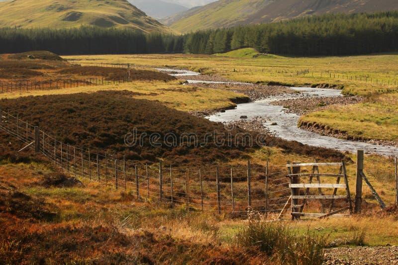 Paysage écossais photo libre de droits