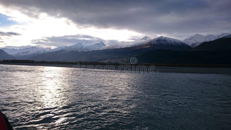 Paysage étonnant de lac dart photographie stock