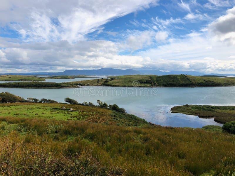 Paysage étonnant sur la péninsule de Dingle, Irlande photos libres de droits