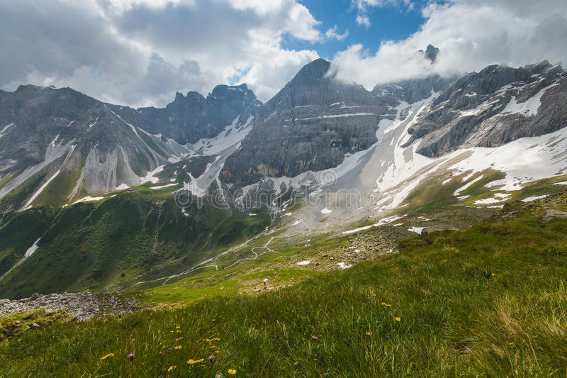 Paysage alpin images stock