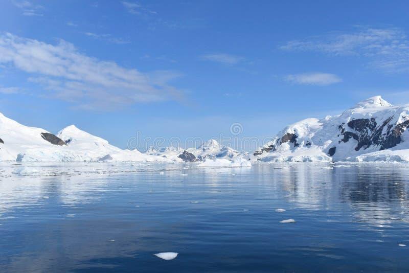 Paysage antarctique - péninsule de l'Antarctique images stock