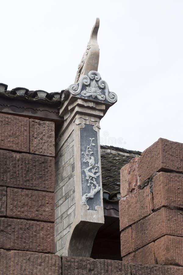 Paysage antique d'architecture dans la ville de Phoenix images libres de droits