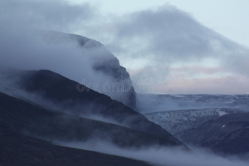 Paysage au Groenland photos stock