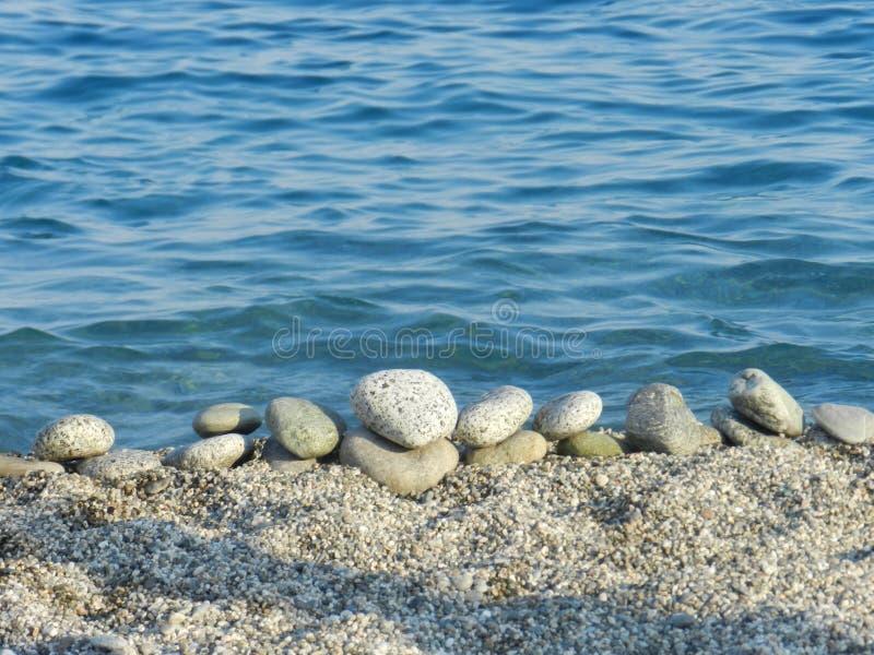 Paysage av stranden fotografering för bildbyråer