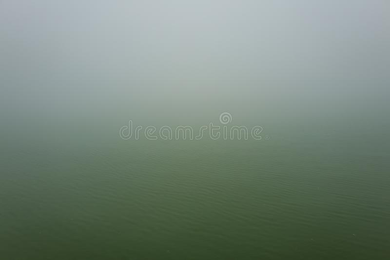 Paysage brumeux dans Sapa, Vietnam photos libres de droits