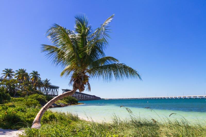 Paysage chez Bahia Honda Beach image libre de droits