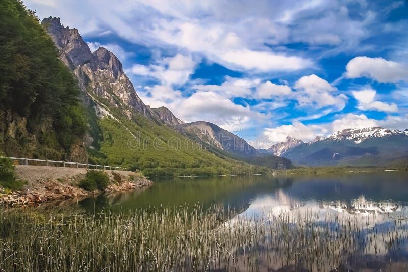 Paysage chilien de patagonia image libre de droits