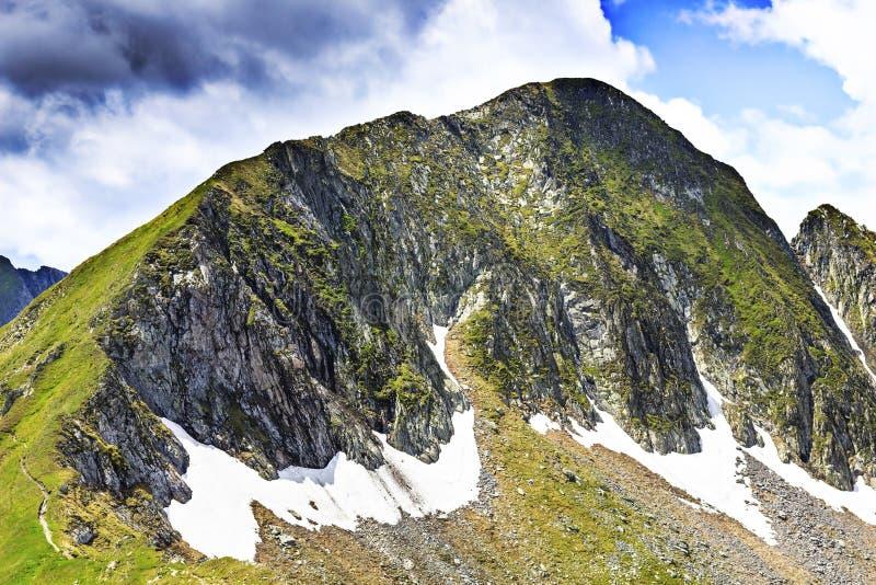 Paysage d'été des montagnes de Fagaras, Roumanie photographie stock