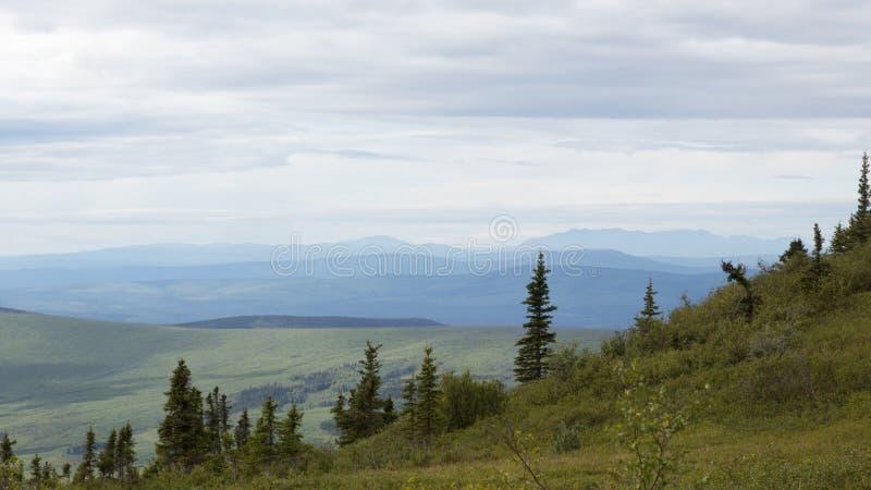 Download Paysage d'Alaska image stock. Image du désert, excursion - 76076291