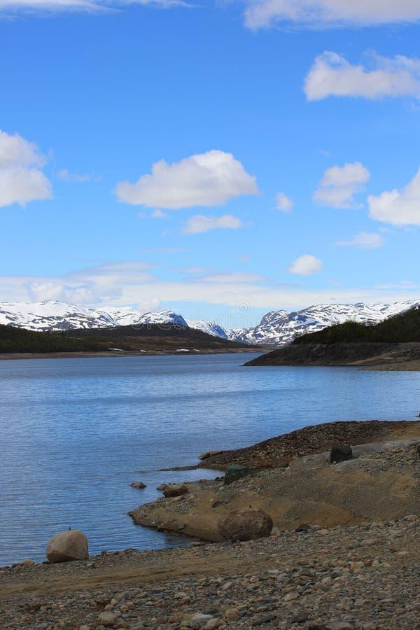 Paysage d'Arctique de ressort photographie stock libre de droits
