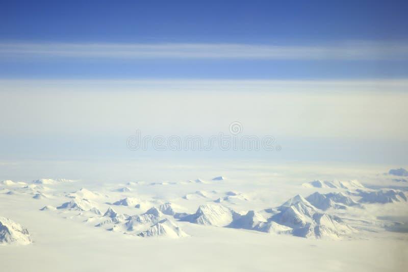 Paysage d'Arctique du Svalbard photographie stock libre de droits
