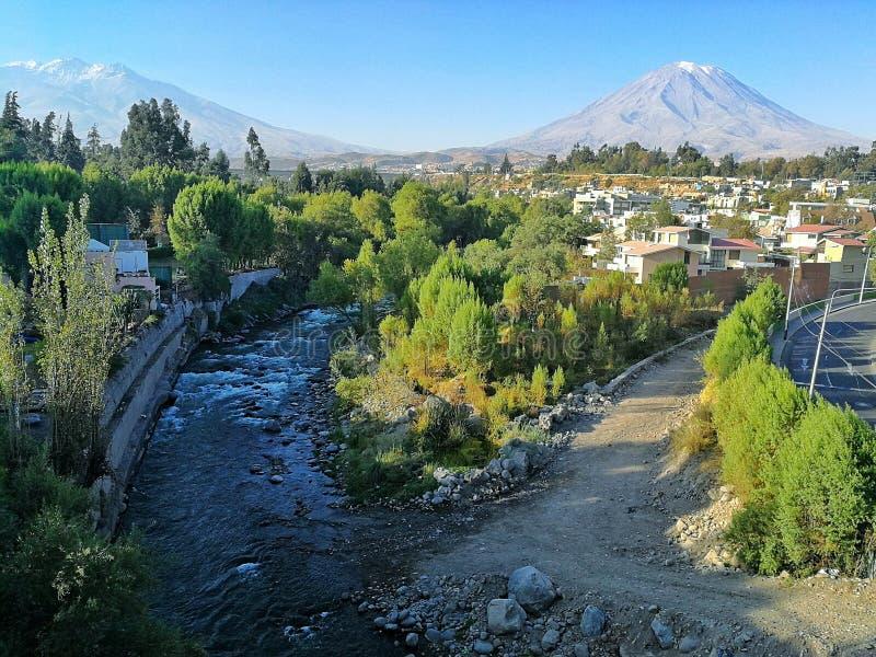 Paysage d'Arequipa photos stock