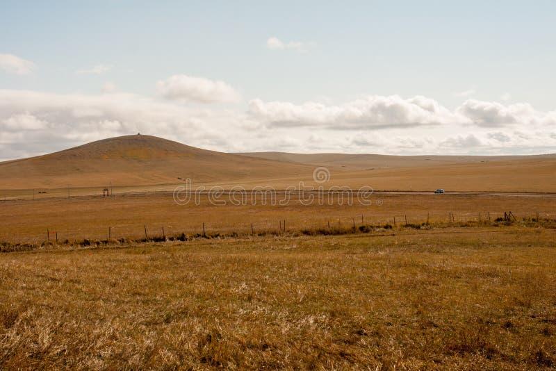Paysage d'automne de prairie en Chine photos stock
